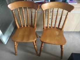 4 x chairs