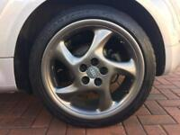 "18"" PORSCHE TURBO TWIST ALLOYS(VW/AUDI/SEAT/SKODA FITMENT)"