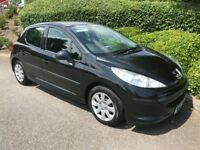 PEUGEOT 207 1.6 HDi S 5dr - M.O.T. - FSH (6 STAMPS) - NEW CAMBELT - £30 ROAD TAX - 55 MPG PLUS !!
