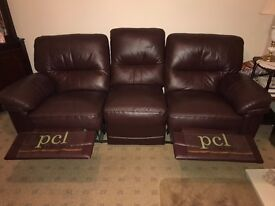 Brown Leather Sofa PCL Collection