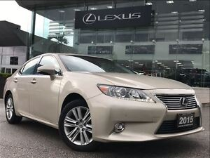 2015 Lexus ES 350 1 Owner Touring Pkg Navi Backup Cam  Sunroof