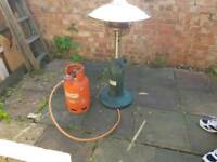 table top gas heater