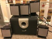 Genius SW 5.1 1000 Surround Sound System