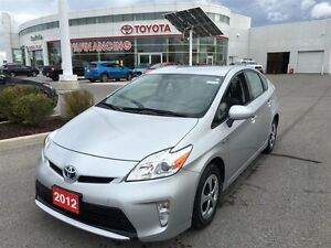 2012 Toyota Prius includes 3 year, COMPREHENSIVE WARRANTY!