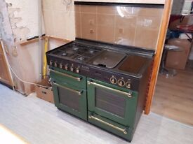 RANGEMASTER 110 Gas cooker and Hood