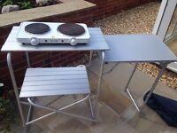 Aluminium Portable Table