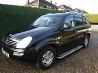 2006 SSANGYONG RX270 DIESEL 7 SEATER LEATHER