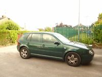 vw golf gt tdi 6gears long mot good condition low mileage for year