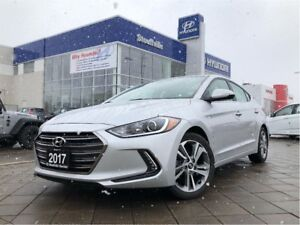 2017 Hyundai Elantra Limited Loaded/LOW K/Local Trade/$77pw+HST