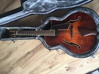 Eastman AR605ce Archtop - with added handmade Kent Armstrong pickup