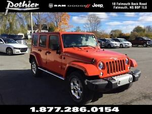 2015 Jeep WRANGLER UNLIMITED Sahara 4x4 | EXTENDED WARRANTY | CL