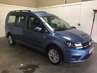 New shape VW Caddy Maxi 7 seat, like new, low mileage, phone&bluetooth