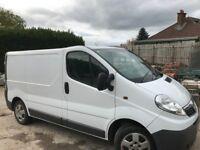 Vauxhall Vivaro 2011 Taxed and mot'd to July 2018