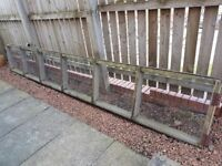 Free pet fence/barrier