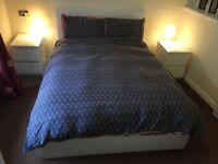 Double Bed and Mattress, excellent condition