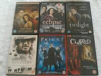 Dvds films and box sets