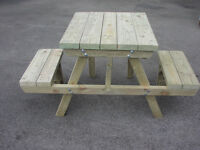 Pub bench/picnic table