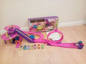 Polly Pocket Race to the Mall FULLY WORKING.INC SPARES!!