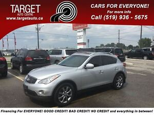 2010 Infiniti EX35 Loaded; Leather and More, Drives Great Very C
