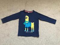 M&S boys tshirt full sleeve age 3-4