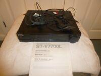 Sony TC-V7700 Stereo & Goodmans twin Cassette Decks