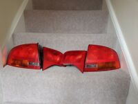 AUDI A4 B7 2004-2008 SALOON SEDAN REAT TAIL LIGHT LAMP LIGHTS LEFT RIGHT PAIR