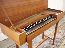 Clavichord by John Morley, Early Music Instrument Harpsichord