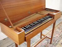 Clavichord by John Morley, Early Music Instrument Harpsichord