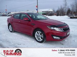 2013 Kia Optima EX Turbo + PANO SUNROOF LEATHER