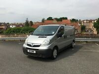 LONG WHEEL BASE 2007 128K MILES VAUXHALL VIVARO 2.0 CDTI 6 SPEED SAT NAV HANDS FREE KIT PRIVATE REG
