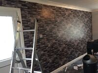 £50 PER FEATURE WALLPAPER FITTING (WALLS'R'US ) WALLPAPER SPECIALISTS. CALL/TEXT ANYTIME