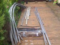 Poly tunnel frame