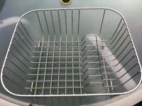 Stainless steel dish/cutlery rack from John Lewis