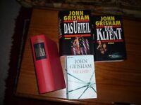 Novels, German Language, by Sidney Sheldon, John Grisham, Frederick Forsyth, Danielle Steel,