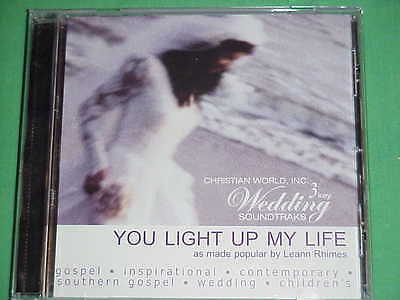 Christian World Soundtrak 4469  You Light Up My Life  Leann Rimes  Cd 3 Key New
