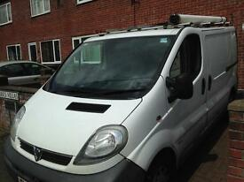 Vauxhall Vivaro 2006, low mileage
