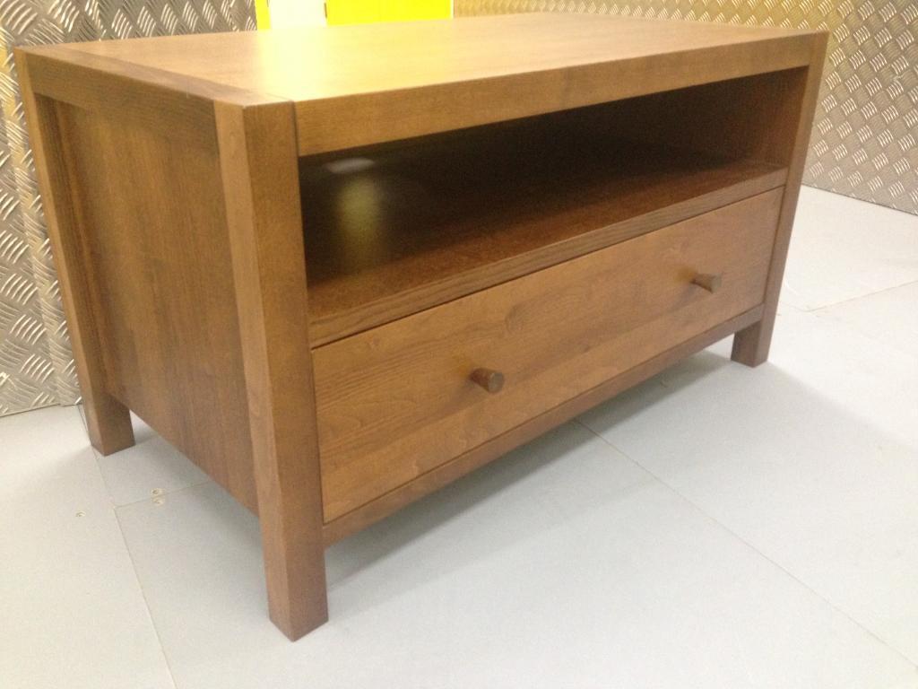 Laura Ashley Brompton oak TV Cabinet chest drawer furniture - John Lewis habitat raft oka