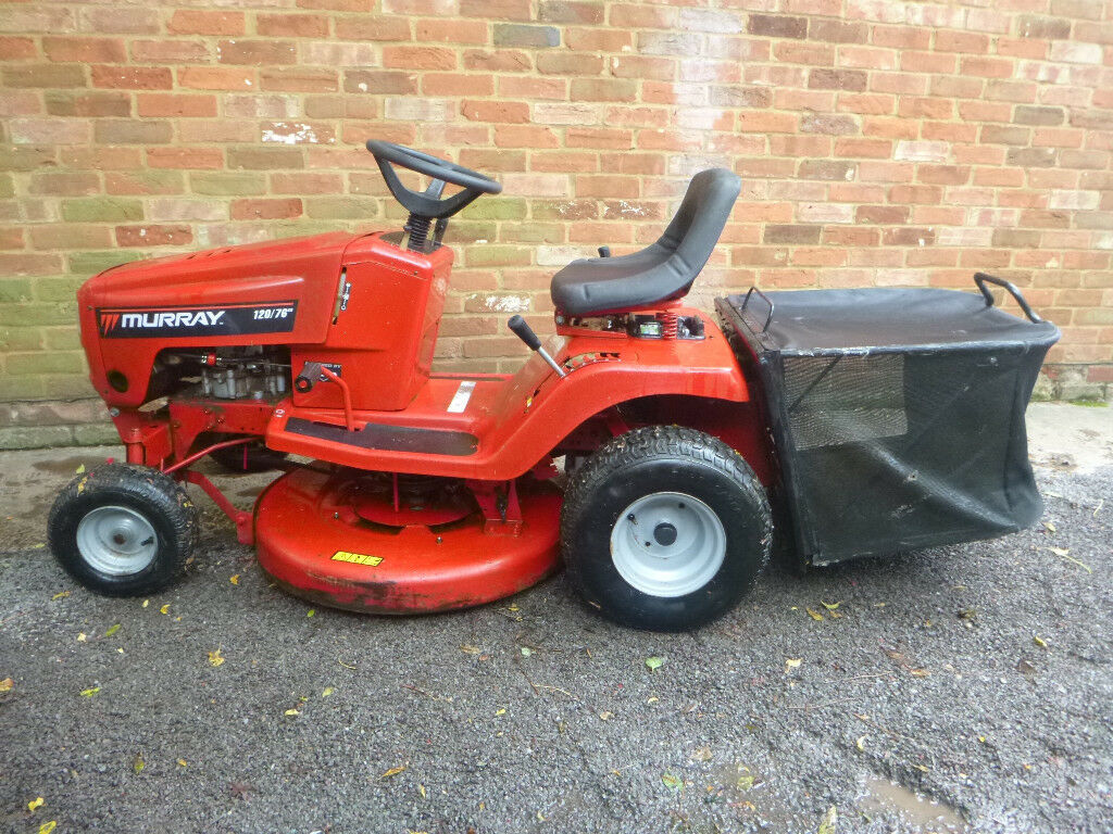 Murray Lawn Mowers New : Hp murray ride on lawn mower garden tractor in