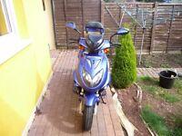 Direct Bikes Ninja 50cc moped 2014