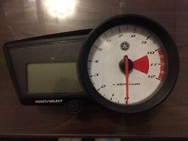 2010 Yamaha YZF R125 Clocks Dash Speedo