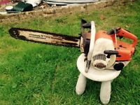 Stihl chainsaw 08s