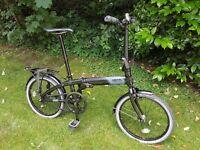 Tern Link Uno Folding Bike like Dahon or Brompton