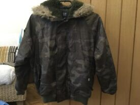 GAP camouflage colour Jacket Age 8-9