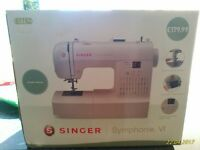 Singer Symphonie sewing machine in box
