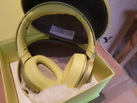 SONY MDR-100ABN h.ear on Noise Cancelling Wireless Headphones - Lime