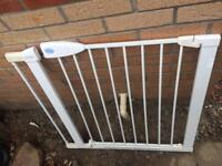 Lindam stairs gate with extension