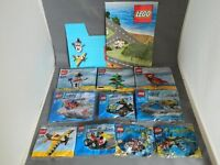 Complete 2010 Lego promotional set including box , playmat and 10 sets
