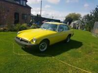 MGB GT 1981
