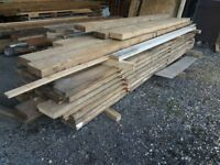 """9"""" x 2"""" timber 15ft lengths approx just £12 per length or 11ft lengths for £10 per length"""