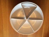 White Crudites Serving bowl/pasta bowl from Le Vrai Gourmet by Debenhams
